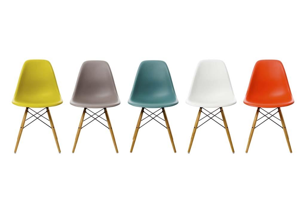 eingetroffen eames plastic side chair dsw von vitra m04 moderne r ume. Black Bedroom Furniture Sets. Home Design Ideas
