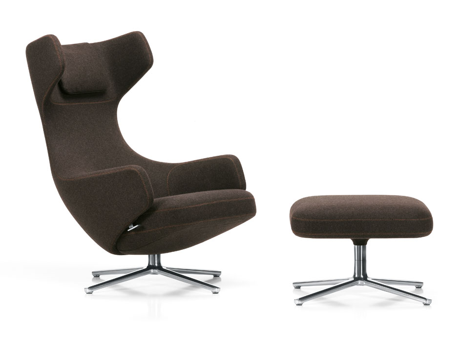 der neue lounge sessel grand repos von vitra bei m04 m04 moderne r ume. Black Bedroom Furniture Sets. Home Design Ideas